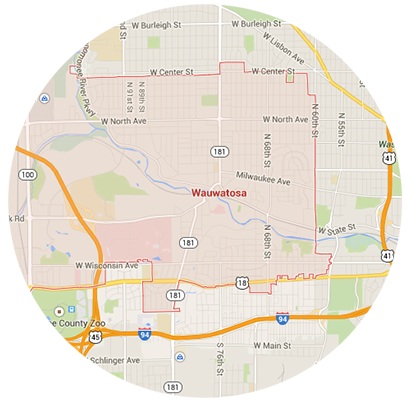 Wauwatosa Garage Door Service Areas