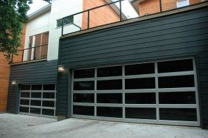 contemporary style glass garage door wauwatosa wi